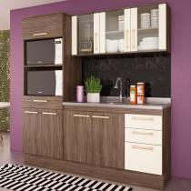 Cozinha Compacta 3 Peças Zafira Casamia A1897 -