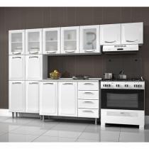 Cozinha Compacta 4 Peças com Balcão Premium Itatiaia Branco -
