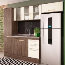 Cozinha Compacta 4 Peças Zafira Casamia A1895 -