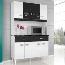 Cozinha Compacta 8 Portas e 2 Gavetas Manu - Poquema -