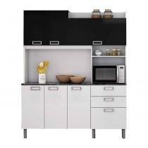 Cozinha Compacta Açaí I4G2-160 Branco/Preto 2V - Itatiaia - Itatiaia