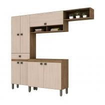 Cozinha Compacta B110 7 Portas 1 Gaveta Briz -