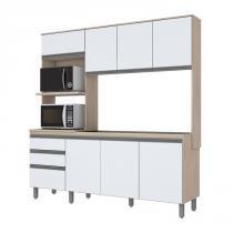 Cozinha Compacta B112 Branco Fendi Briz -
