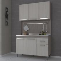 Cozinha Compacta Brasil Indekes Nogal/Treviso/Treviso -