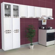 Cozinha Compacta Colormaq Class Slim - 11 Portas Aço