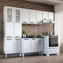 Cozinha Compacta Colormaq Leblon - 11 Portas Aço