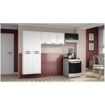 Cozinha Compacta Colormaq Top Class Slin - 8 Portas Aço