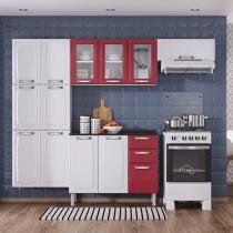 Cozinha Compacta Itatiaia Luce - 10 Portas + Balcão com Tampo Itatiaia
