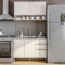 Cozinha Compacta Líder Casa Aroma - 4 Portas 3 Gavetas