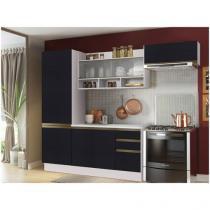 Cozinha Compacta Madesa Glamy New G2006809 - com Balcão 7 Portas 2 Gavetas