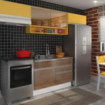 Cozinha Compacta Marina Western E Gold - Glamy