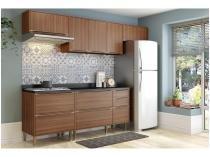 Cozinha Compacta Multimóveis Calábria com Balcão - 9 Portas 3 Gavetas