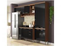 Cozinha Compacta Multimóveis Itália com Balcão  - 9 Portas 3 Gavetas