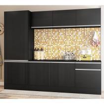 Cozinha Compacta Multimóveis Línea - 5224.130.130.130 com Balcão 8 Portas 1 Gaveta