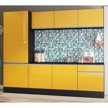 Cozinha Compacta Multimóveis Línea - 5224.130.695.130 com Balcão 8 Portas 1 Gaveta