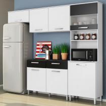 Cozinha Compacta Sofia 7 Portas 2 Gavetas - Movemax -