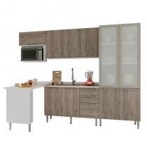 Cozinha Completa 14 Mia Coccina Rústico P3 - Art in móveis