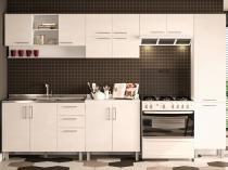 Cozinha Completa Politorno Floripa com Balcão - 14 Portas 3 Gavetas