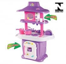 Cozinha Infantil Completa Pia com Água Calesita 1310 -