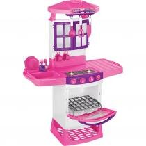 Cozinha Infantil Mágica Eletrônica 8011 Magic Toys com Sons e Luzes -