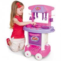 Cozinha Infantil Play Time com Acessórios 2008 - Cotiplás - Cotiplás