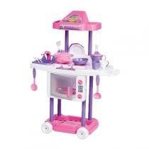 Cozinha Infantil Riva Chef Rosa E Pink 1302 Calesita -