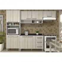 Cozinha Modulada Composição 14 Samia Ártico/Niágara - Luciane -