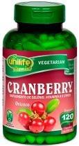 Cranberry Oxicoco Unilife 120 Capsulas 500mg -
