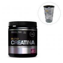 Creatina Blend 420g Açai com Guarana - Probiotica Pro + Shakeira 700ml - Probiotica