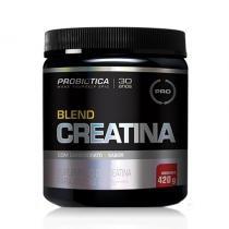 Creatina Blend com Carboidrato  420g - Probiótica - Limão - Probiótica