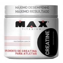 Creatina em Pó 300g - Max Titanium -