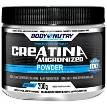 Creatina Micronizada - 200 G - Body Nutry - Body Nutry