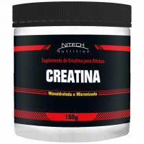 Creatina Monoidratada - 150 G - Nitech Nutrition - Nitech Nutrition