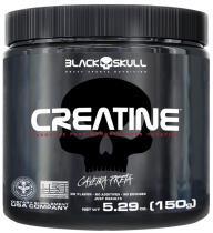 Creatine Monohidratada Caveira Preta 150g Creatina Black Skull -