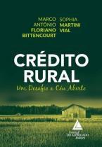 Credito Rural - Livraria do advogado