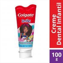 Creme Dental Colgate Smiles Barbie 100g -