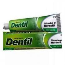 Creme Dental Natural S/ Flúor Menta/Hortelã 90g Dentil -