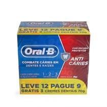 Creme Dental Oral-B 123 70g Leve 12 Pague 9 -