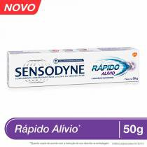 Creme Dental Sensodyne Rápido Alívio 50g - Glaxosmithkline
