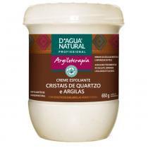 Creme Esfoliante Cristais de Quartzo e Argilas 650g - Dágua natural