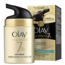 Creme Facial Umectante Olay Total Effects Sem perfume FPS15 50ml - OLAY