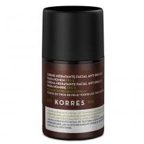 Creme Hidratante Facial Anti-Brilho para Homem Korres Borragem FPS 6 - 45g - Korres