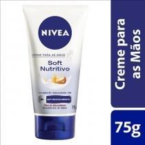 Creme para mãos nivea hand tratamento nutritivo 75g - Nivea