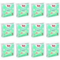 Cremer Topz Baby Fralda De Pano Branca C/5 (Kit C/12) -