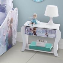 Criado-Mudo 1 Gaveta Infantil Pura Magia - Disney Frozen Star