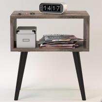 Criado Nicho Unique Roble Imperial/Café - Incolar móveis