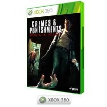 Crimes and Punishment Sherlock Holmes - para Xbox 360 - Maximum Games