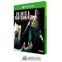Crimes and Punishment Sherlock Holmes - para Xbox One - Maximum Games