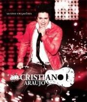 Cristiano araujo ao vivo em goiania (blu-ray) - Som livre dvd (rimo)