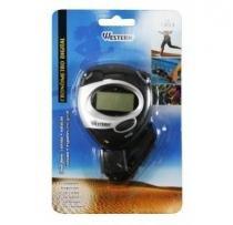 Cronômetro progressivo de mão digital c/ alarme para esportes western -